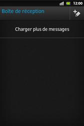 Sony ST27i Xperia Go - E-mail - envoyer un e-mail - Étape 12