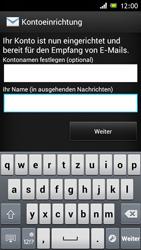 Sony Xperia J - E-Mail - Konto einrichten - Schritt 16