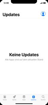 Apple iPhone X - Apps - Nach App-Updates suchen - Schritt 4