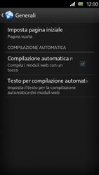 Sony Xperia U - Internet e roaming dati - Configurazione manuale - Fase 20