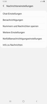Samsung Galaxy A80 - SMS - Manuelle Konfiguration - Schritt 6