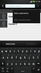 HTC Desire 601 - Contacten en data - Contacten kopiëren van toestel naar SIM - Stap 9