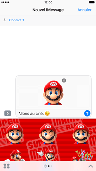 Apple Apple iPhone 6s Plus iOS 10 - iOS features - Envoyer un iMessage - Étape 23