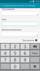 Samsung Galaxy S 5 - E-mail - configurazione manuale - Fase 10