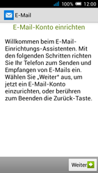 Alcatel Pop C7 - E-Mail - Manuelle Konfiguration - Schritt 5