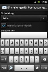 Sony Xperia E - E-Mail - Konto einrichten - Schritt 13