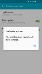 Samsung Galaxy S6 Edge - Software - Installing software updates - Step 10