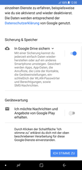 Samsung Galaxy Note 8 - Apps - Einrichten des App Stores - Schritt 19