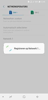 Samsung Galaxy A8 (2018) - Netwerk - Handmatig een netwerk selecteren - Stap 11