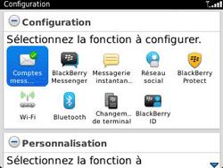 BlackBerry 9320 - E-mails - Ajouter ou modifier un compte e-mail - Étape 11