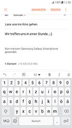 Samsung Galaxy S7 - E-Mail - E-Mail versenden - 1 / 1