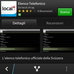 BlackBerry Q10 - Applicazioni - Installazione delle applicazioni - Fase 7
