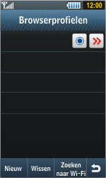 Samsung S8000 Jet - Internet - Handmatig instellen - Stap 10