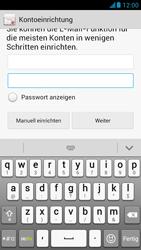 Huawei Ascend G526 - E-Mail - Konto einrichten - Schritt 7