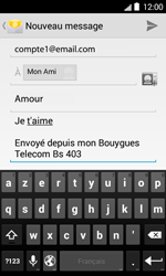 Bouygues Telecom Bs 403 - E-mails - Envoyer un e-mail - Étape 10