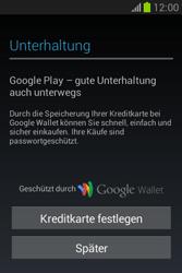 Samsung Galaxy Fame Lite - Apps - Einrichten des App Stores - Schritt 24