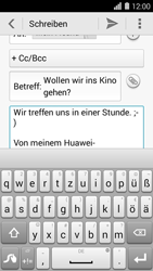Huawei Ascend Y550 - E-Mail - E-Mail versenden - 0 / 0
