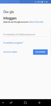 Samsung Galaxy S8 - Android Oreo - E-mail - handmatig instellen (gmail) - Stap 8