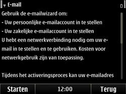Nokia E6-00 - e-mail - handmatig instellen - stap 5