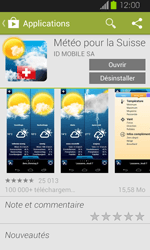Samsung Galaxy Express - Applications - Installation d