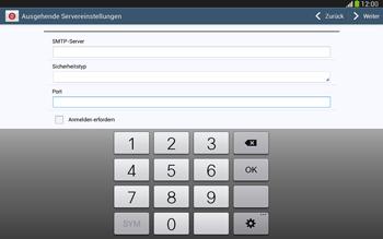 Samsung P5220 Galaxy Tab 3 10-1 LTE - E-Mail - Konto einrichten - Schritt 14