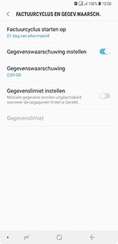 Samsung Galaxy A7 (2018) - internet - mobiele data managen - stap 12