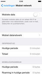 Apple iPhone 5s (iOS 8) - internet - data uitzetten - stap 5