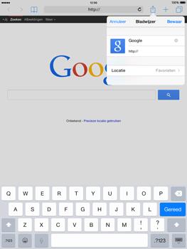 Apple iPad Air iOS 8 - Internet - internetten - Stap 6