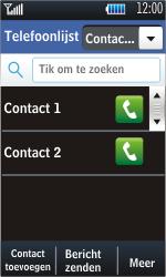Samsung S5620 Monte - contacten, foto