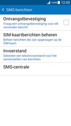 Samsung G530FZ Galaxy Grand Prime - SMS - Handmatig instellen - Stap 9