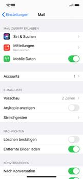 Apple iPhone X - iOS 14 - E-Mail - Manuelle Konfiguration - Schritt 15