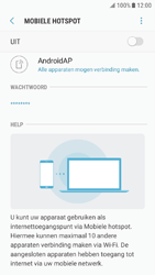 Samsung Galaxy J5 (2016) - Android Nougat - WiFi - Mobiele hotspot instellen - Stap 11