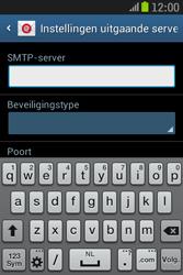 Samsung S6310 Galaxy Young - E-mail - e-mail instellen: IMAP (aanbevolen) - Stap 13
