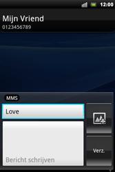 Sony Ericsson Xperia Mini Pro - MMS - hoe te versturen - Stap 8
