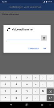 Sony Xperia XZ3 - Voicemail - handmatig instellen - Stap 11