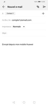 Huawei P Smart Z - E-mail - envoyer un e-mail - Étape 6