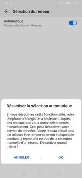 Huawei P30 Pro - Réseau - Sélection manuelle du réseau - Étape 7