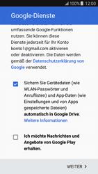 Samsung Galaxy J5 (2016) - Apps - Konto anlegen und einrichten - 19 / 24