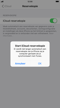 Apple iPhone 6 Plus - iOS 12 - toestel resetten - back-up maken met jouw account - stap 13