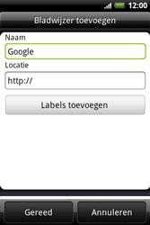 HTC A510e Wildfire S - Internet - internetten - Stap 6