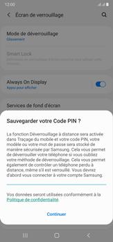 Samsung Galaxy Note20 Ultra 5G - Sécuriser votre mobile - Activer le code de verrouillage - Étape 12