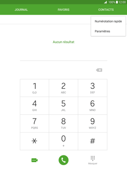 Samsung Galaxy Tab A 9.7 - Messagerie vocale - Configuration manuelle - Étape 5