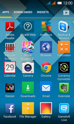 Alcatel OT-4033X Pop C3 - E-mail - Sending emails - Step 3