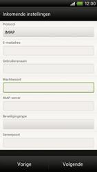 HTC S720e One X - E-mail - Handmatig instellen - Stap 10