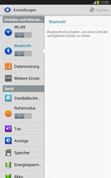 Samsung N5100 Galaxy Note 8-0 - Bluetooth - Geräte koppeln - Schritt 7