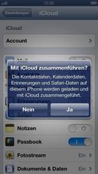 Apple iPhone 5 - Apps - Konfigurieren des Apple iCloud-Dienstes - Schritt 6