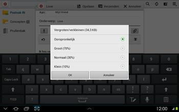 Samsung P5100 Galaxy Tab 2 10-1 - E-mail - Hoe te versturen - Stap 14