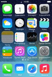 Apple iPhone 4S iOS 7 - Operazioni iniziali - Personalizzazione della schermata iniziale - Fase 3