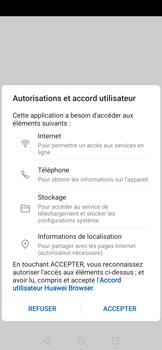 Huawei Nova 5T - Internet et connexion - Naviguer sur internet - Étape 5