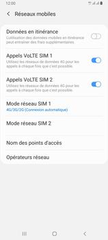 Samsung Galaxy A80 - Internet et connexion - Activer la 4G - Étape 8